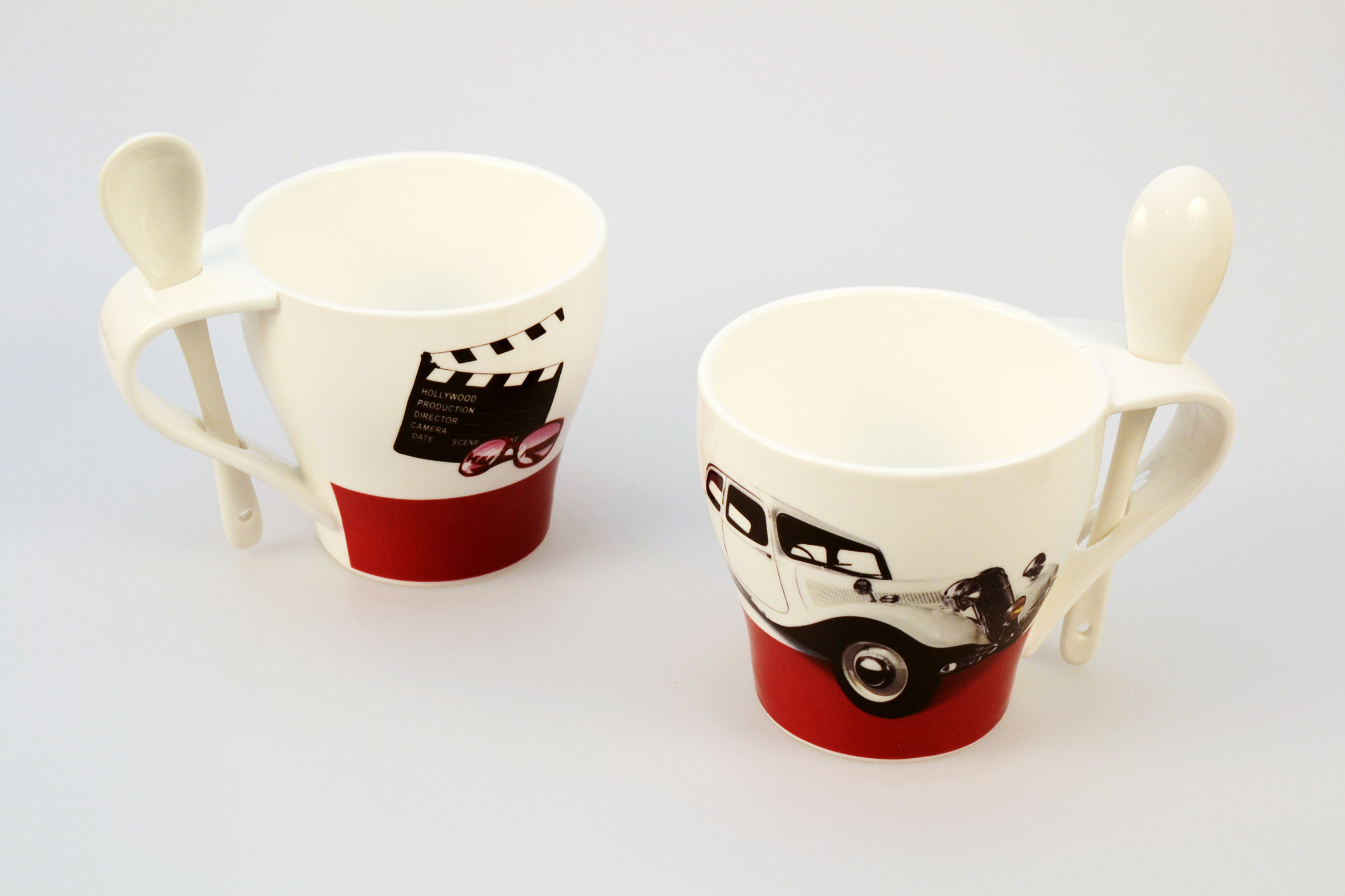 Set 4 tazzine baci milano wish design outlet for Design outlet milano