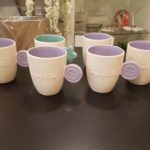 Set 6 Tazze da Latte colorate