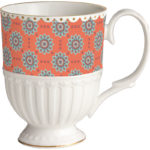 BACI MILANO TAZZA MUG IN PORCELLANA ROYAL MIX LINES